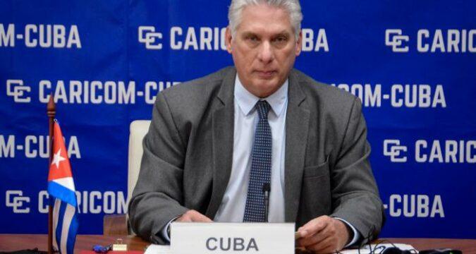 Caricom Cuba-Díaz-Canel: Somos pequeños gigantes en un mundo donde imperan la hipocresía y la crueldad