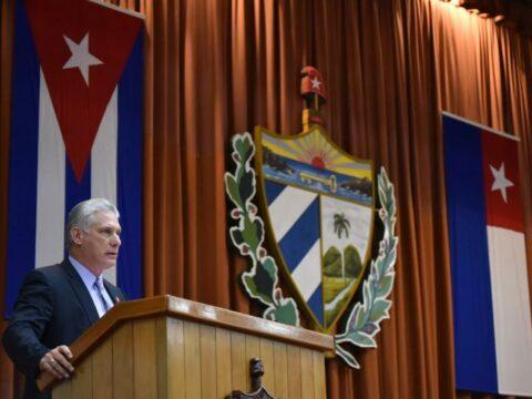 MIguel Díaz Canel, presidente de CUba