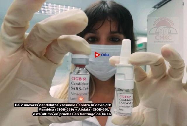 """Inicia Santiago de Cuba ensayo del Candidato Vacunal """"ABDALA"""" contra la COVID-19"""