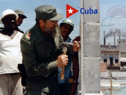 Fidel, El Constructor Mayor de la Revolución Cubana.