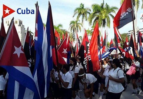 Homenaje al líder, el Comandante en Jefe, Fidel Castro Ruz en Santiago de Cuba a 4 años de su eternidad