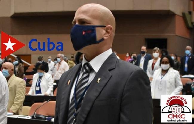 Gerardo Hernández Nordelo miembro del Consejo de Estado