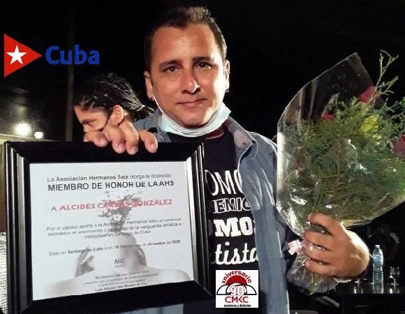 Premio al Joven Creador por la AHS de Santiago de Cuba