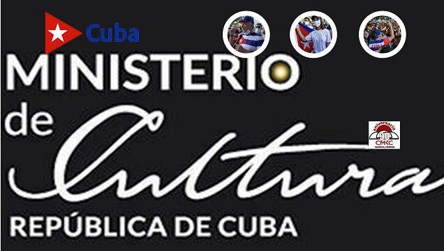 Ministerio de Cultura de luto por Fidel y en rechazo al show mediático en San Isidro