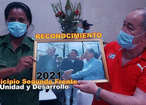 Reconocimientos al pueblo del municipio Segundo Frente. Foto: Santiago Romero Chang