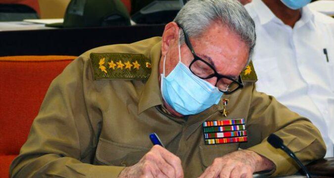 Raúl Castro Ruz, General de Ejército