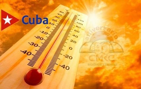 Temperatura en cambios constantes