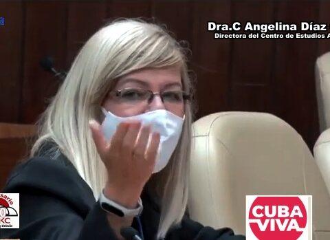 Dra.C Angelina Díaz García, Directora del Centro de Estudios Avanzados