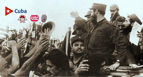 La caravana es el símbolo de la conquista de la plena libertad de Cuba