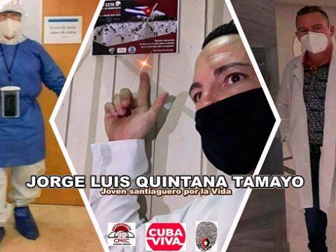 Un Joven de Santiago de Cuba por la Vida