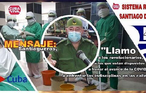 Mensaje de Lázaro Expósito Canto, Primer Secretario del Partido en la provincia Santiago de Cuba a todo el que pueda ayudar en la lucha contra las indisciplinas sociales y pueda sumarse en la batalla contra la covid-19.