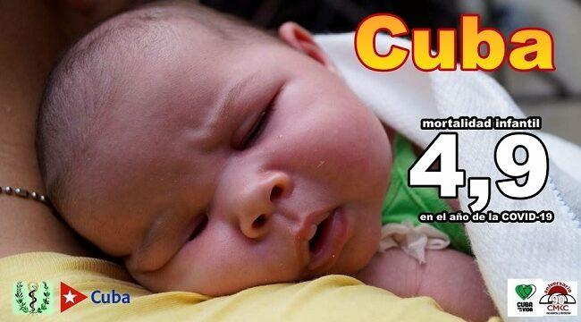 Cuba registró una tasa de mortalidad infantil de 4,9 en un año marcado por la COVID-19