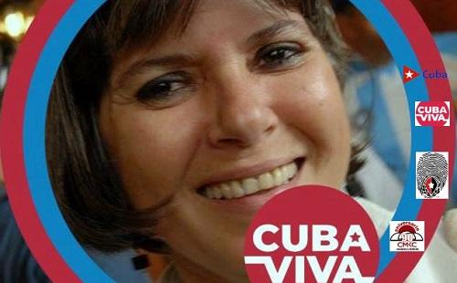 Poetisa Teresa Melo y su amor creciente por Cuba