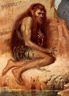 Caliban es uno de los personajes centrales de la tragedia La tempestad, última pieza escrita por el dramaturgo inglés William Shakespeare