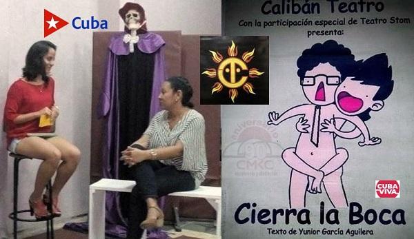 En las redes sociales Grupo Calibán Teatro de Santiago de Cuba