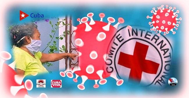 Cruz Roja santiaguera junto al pueblo contra el covid-19