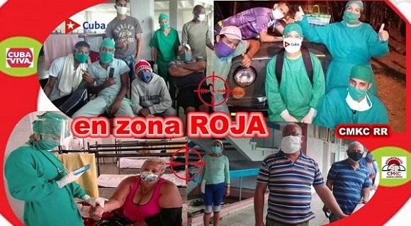 En zona roja contra la covid-19 en el municipio Palma Soriano de la provincia Santiago de Cuba
