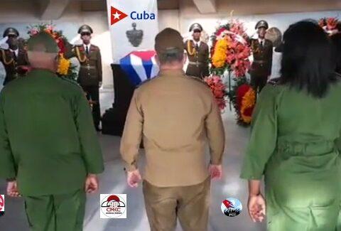 """Tributo a los próceres cubanos, """"Viva Cuba Libre"""""""