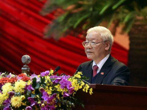 Felicita Presidente cubano a Secretario General del Partido Comunista de Vietnam