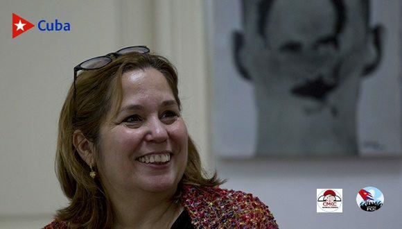 Rosa Miriam Elizalde, Premio Nacional de Periodismo 2021. Foto: Ismael Francisco.