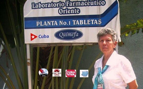 Zoe Lemus y sus creaciones en el Laboratorios Farmacéuticos Oriente. Innovación y Desarroll