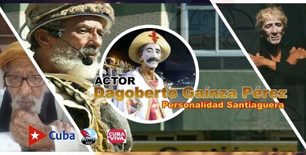 Cumple 81 años actor santiaguero Dagoberto Gaínza Pérez