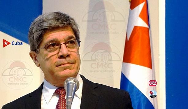 Director General de EE. UU. del Ministerio de Relaciones Exteriores, Carlos Fernández de Cossío.