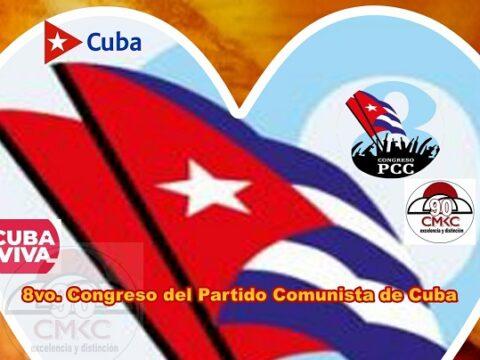 Octavo Congreso del Partido Comunista de Cuba. Imagen: Santiago Romero Chang