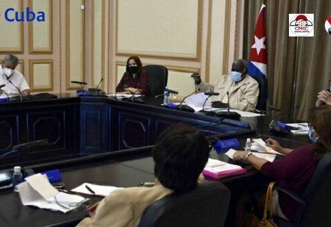 Sesionó Consejo de Estado: Adoptados dos acuerdos y dos decretos leyes