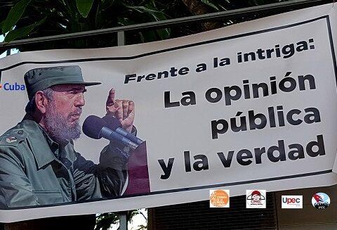 Fidel y la Prensa Cubana. Santiago de Cuba. Foto: Santiago Romero Chang