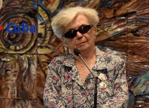 La Patria premia a una cubana muy especial: Graziella Pogolotti Jacobson
