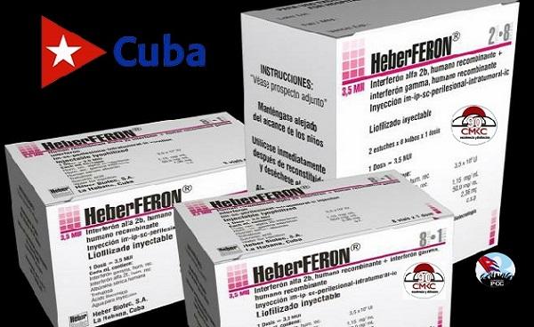 HeberFERON es un fármaco producido en Cuba para el tratamiento de las personas aquejadas de cáncer cutáneo. Foto: cortesía del cigb