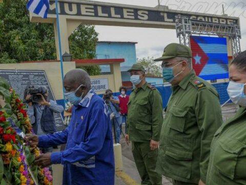 homenaje a las víctimas del atentado terrorista al vapor La Coubre