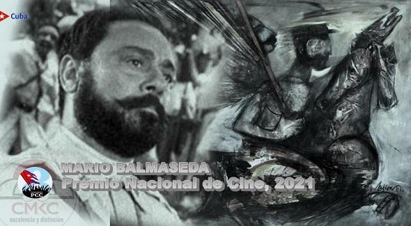 Mario Balmaseda, Premio Nacional de Cine 2021. Imagen: Santiago Romero Chang