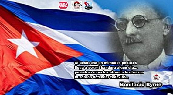 """Bonifacio Byrne, matancero y autor del poema """"Mi Bandera"""""""