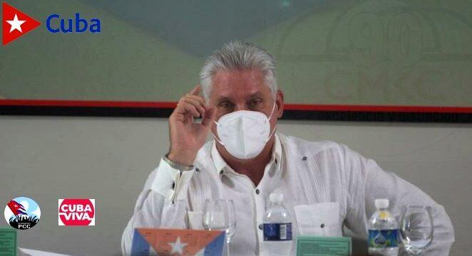 Miguel Díaz Canel Brmúdez, Presidente de la República de Cuba