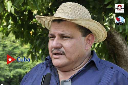 Rafael Santiesteban Pozo, presidente de la Asociación Nacional de Agricultores Pequeños (ANAP).