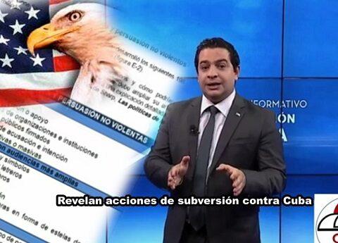 Revelan acciones de subversión contra Cuba