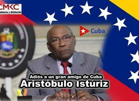 Falleció Aristóbulo Istúriz a los 74 años, ministro de Educación de Venezuela, gran amigo de Cuba