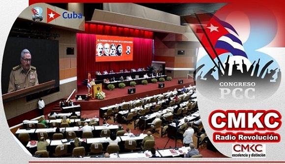 VIII Congreso del Partido Comunista de Cuba. Eighth Congress of the Communist Party of Cuba. Image: Santiago Romero Chang
