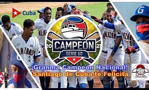 Granma es el Campeón, con su título nacional y confirmó que es el Mejor Equipo de la Pelota Cubana