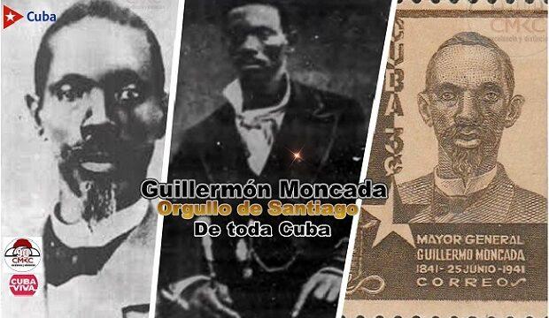 Guillermón Moncada, Orgullo de Santiago y de toda Cuba. Imagen: Santiago Romero Chang.