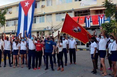 UJC desarrolla actividades en Santiago de Cuba con motivo del 4 de abril