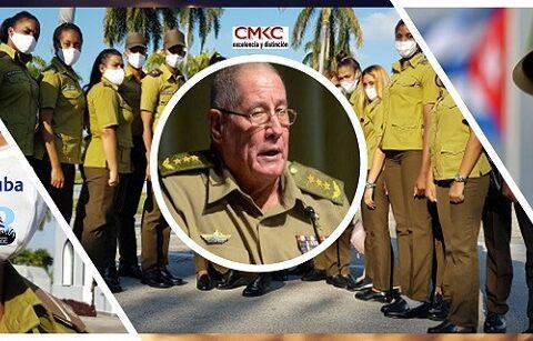 General de Cuerpo de Ejército Álvaro López Miera, nuevo ministro de las Fuerzas Armadas Revolucionarias