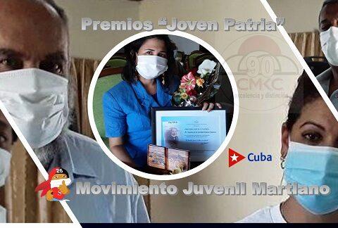 Premios Joven Patria 2021 en Stiago de Cuba. Imagen web: Santiago Romero Chang.