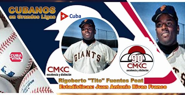 """Rigoberto """"Tito"""" Fuentes Peat, Un Cubano en 13 temporadas en Grandes Ligas de EE.UU. Imagen web: Santiago Romero Chang"""