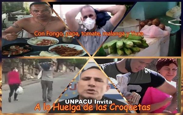 La Huelga de hambre de UNPACU invita a comer