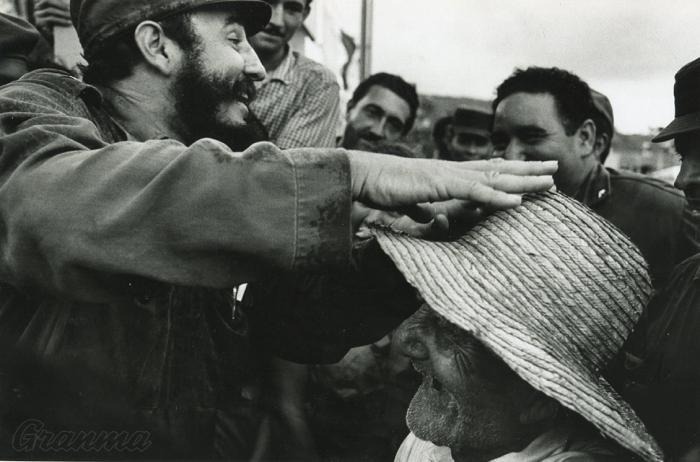 Fidel en la revolución de los campesinos