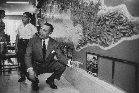 Fulgencio Batista y Zaldivar, dictador en Cuba hasta la victoria rebelde en enero de 1959