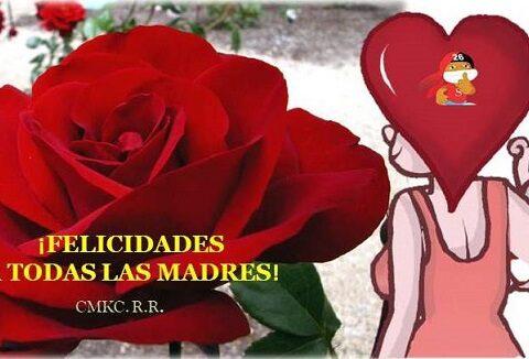 CMKC felicita a todas las Madres.Mucha salud, paz y amor. Imagen: Santiago Romero Chang.